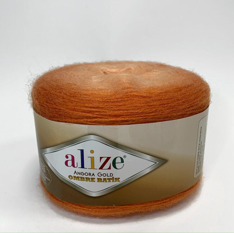 Angora Gold Ombre Batik - 7296